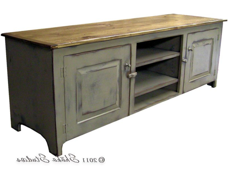 Girtz 72 Inch Painted Tv Stand (Gallery 11 of 20)