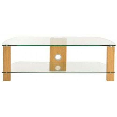 Featured Photo of Glass And Oak Tv Stands
