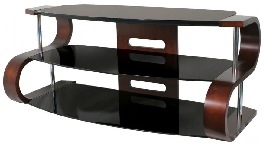 Glass Tv Cabinets With Doors With Most Recent 16 Types Of Tv Stands (Comprehensive Buying Guide) (View 7 of 20)