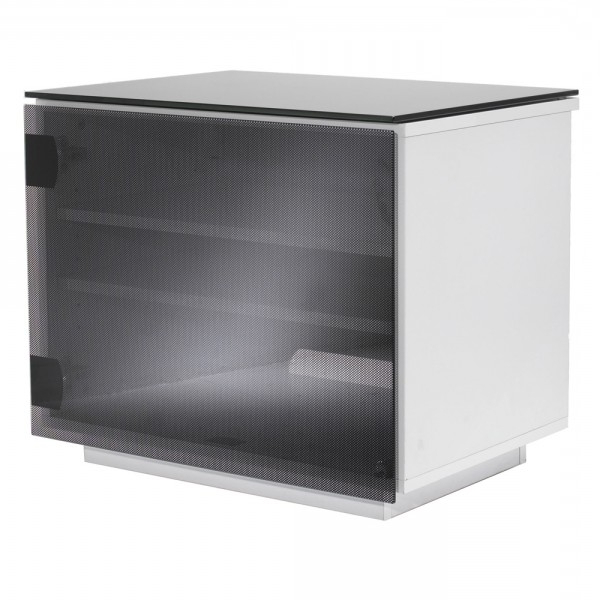 Glass Tv Units & Cabinets With Drawers With Preferred Tv Cabinets With Glass Doors (Gallery 11 of 20)