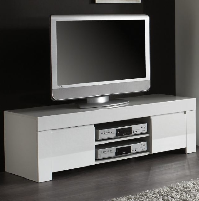 Gloss White Tv Cabinets Throughout Trendy White Gloss Tv Units – Shop Online At Furnish Uk (View 6 of 20)