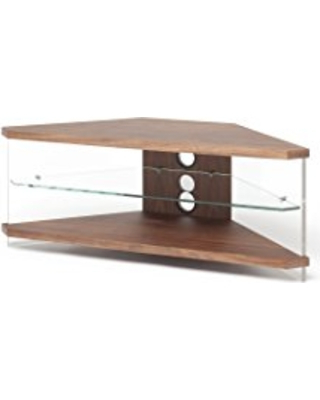 Great Deals On Techlink Air Corner Tv Stand With Walnut In 2017 Techlink Corner Tv Stands (Gallery 3 of 20)