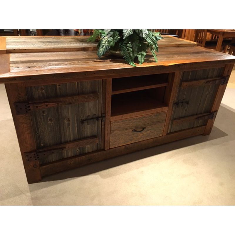 Green Tv Stands In Preferred Heritage Tv Stand Cody Green Gables Outlet Discount Furniture (View 8 of 20)