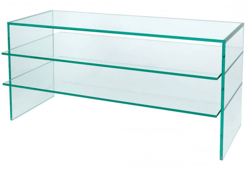 Greenapple Furniture – Plasma Tv Stand – 12Mm Clear Glass With With Preferred Clear Glass Tv Stand (View 10 of 20)