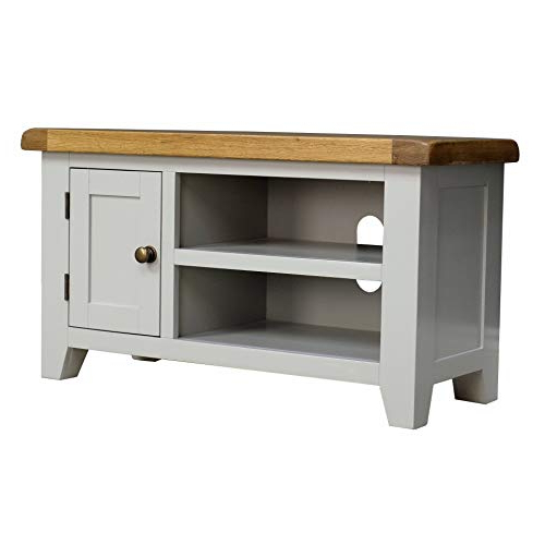 Grey Tv Stand: Amazon.co.uk Throughout Most Popular Valencia 60 Inch Tv Stands (Gallery 6 of 20)
