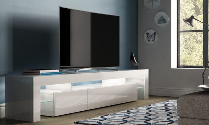 Groupon Goods Pertaining To High Gloss Tv Cabinets (View 5 of 20)