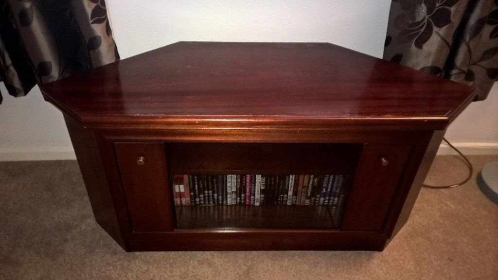 Gumtree With Regard To Mahogany Corner Tv Cabinets (View 4 of 20)
