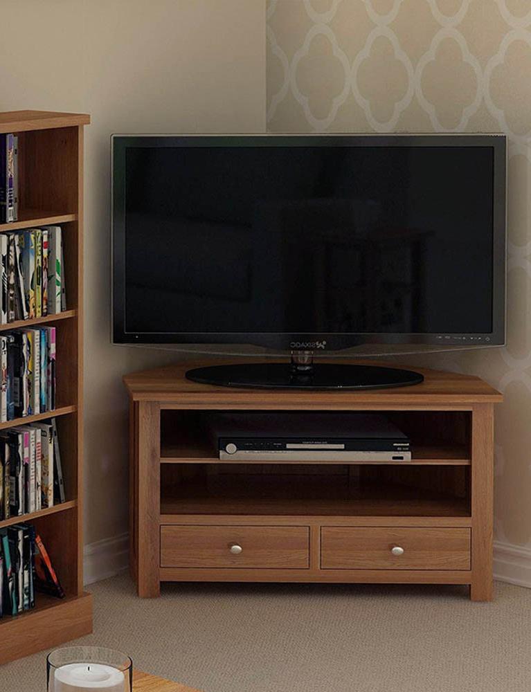 Hallowood Inside Light Oak Tv Corner Units (View 7 of 20)