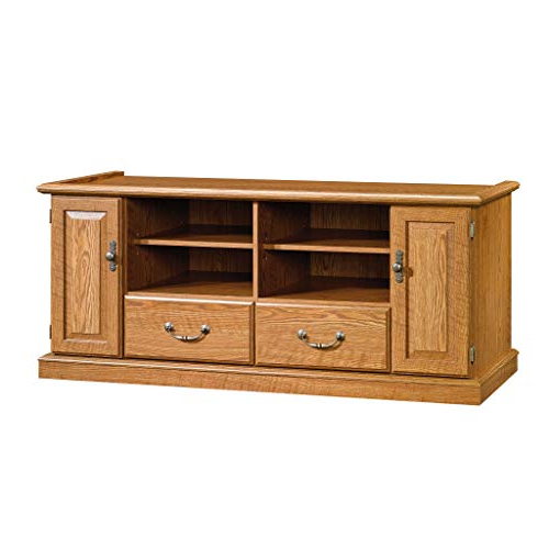 Hardwood Tv Stands For Most Popular Oak Tv Stand: Amazon (View 5 of 20)