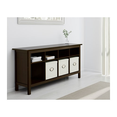 Hemnes Console Table – Black Brown – Ikea With Regard To Latest Ikea Tv Console Tables (Gallery 2 of 20)