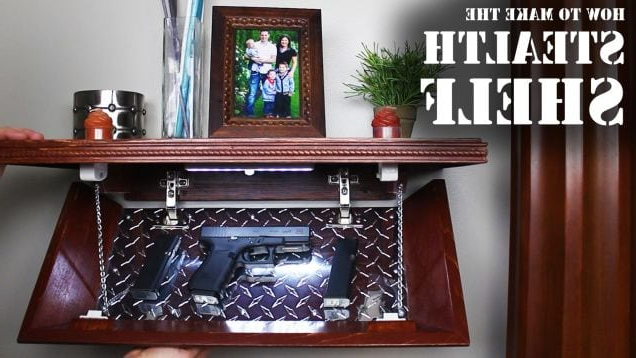 Hide Your Valuables In This Diy Secret Compartment Shelf (View 7 of 20)