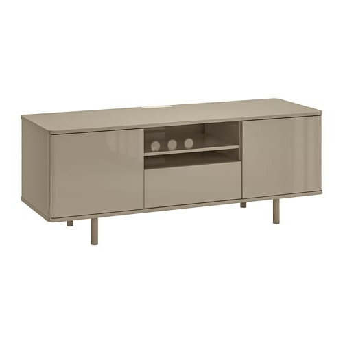 High Gloss Tv Benches For Best And Newest Mostorp Tv Bench – High Gloss Beige – Ikea (View 6 of 20)