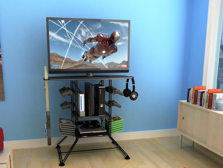 High Ground Gaming In Trendy Tv Stands And Computer Desks (View 9 of 20)