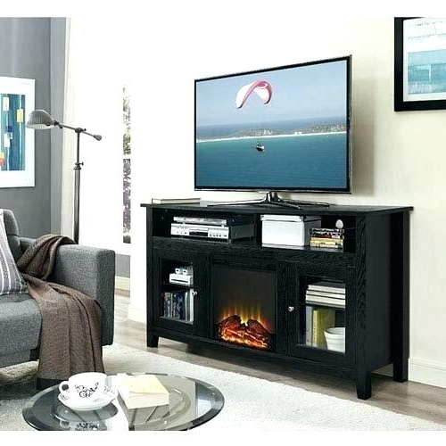 Highboy Tv Stand Inch Wood Highboy Fireplace Stand Black Highboy Tv Throughout Fashionable Dixon Black 65 Inch Highboy Tv Stands (Gallery 5 of 20)