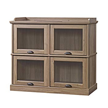 Highboy Tv Stands Within Recent Amazon: Sauder 414720 Barrister Lane Highboy Tv Stand, L: (View 6 of 20)