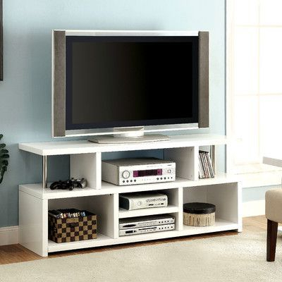 "Hokku Designs Karl Tv Stand For Tvs Up To 60"" (Gallery 10 of 20)"