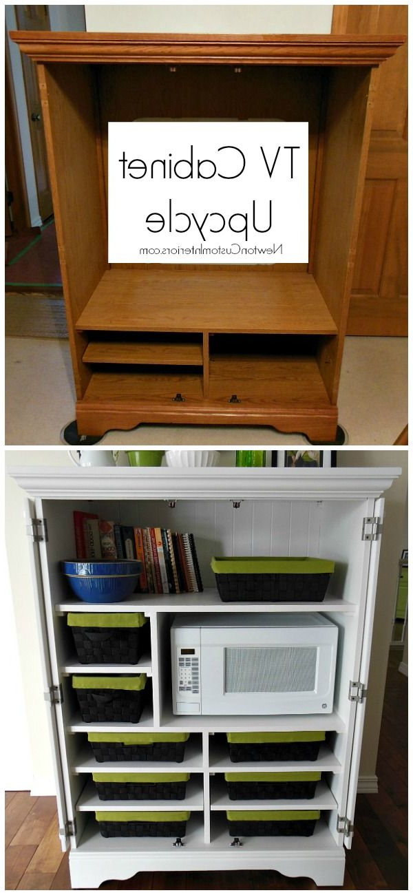 """hometalk & Funky Junk Present: Bloggers Diy Throughout Funky Tv Cabinets (View 5 of 20)"