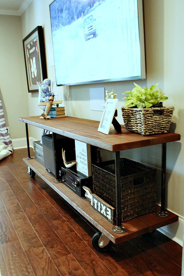 Hometalk: Summer Throughout Well Known Natural 2 Door Plasma Console Tables (View 5 of 20)