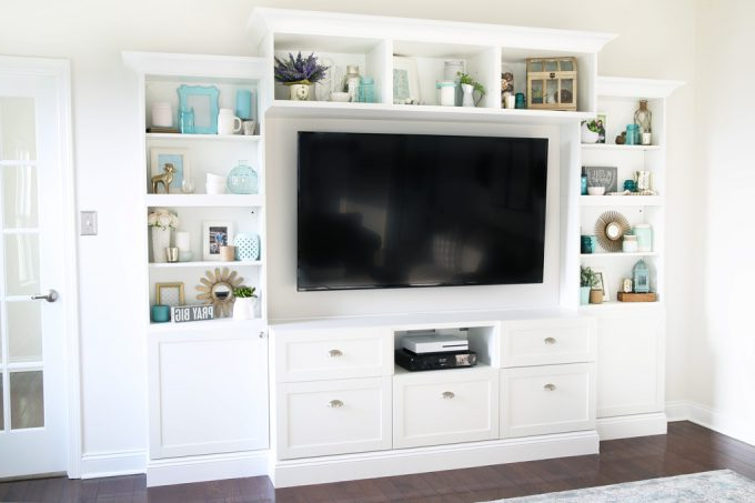 How To Design, Install, And Add Trim To An Ikea Besta Built In Inside Recent Ikea Built In Tv Cabinets (View 5 of 20)