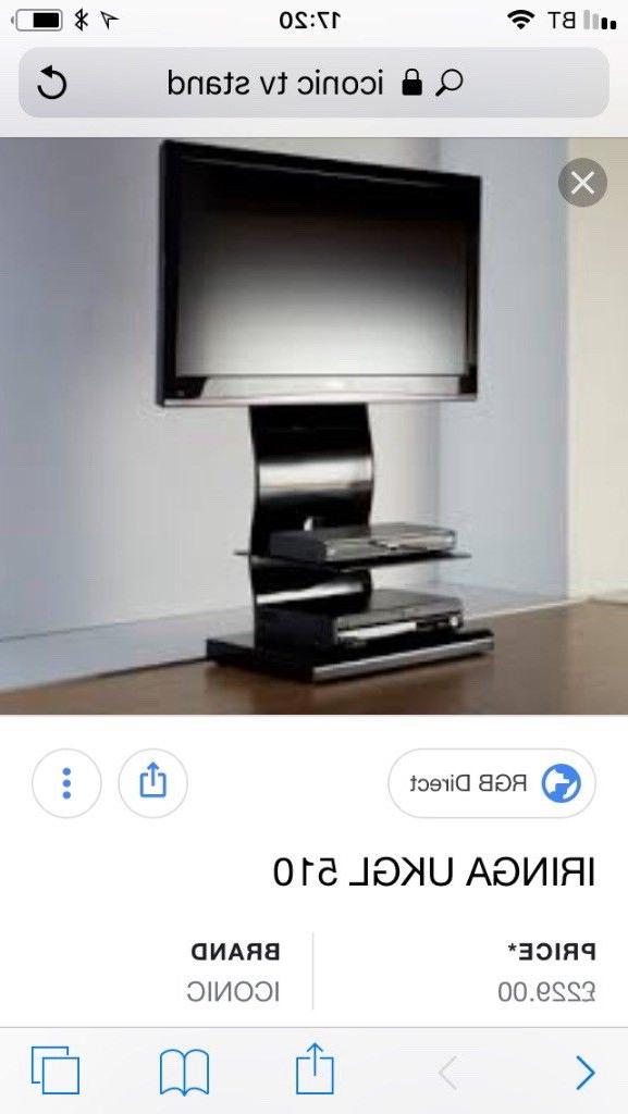 Iconic Tv Stands Throughout 2017 Iconic Tv Stand Black Gloss (View 7 of 20)