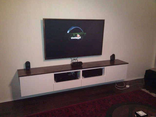 Featured Photo of Ikea Wall Mounted Tv Cabinets