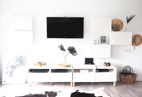 Ikea Tv Console Tables Regarding Recent 16 Diy Ikea Tv Stands And Units With Hacks – Shelterness (Gallery 15 of 20)