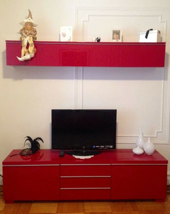 Ikea Tv Unit And Cupboard (View 12 of 20)