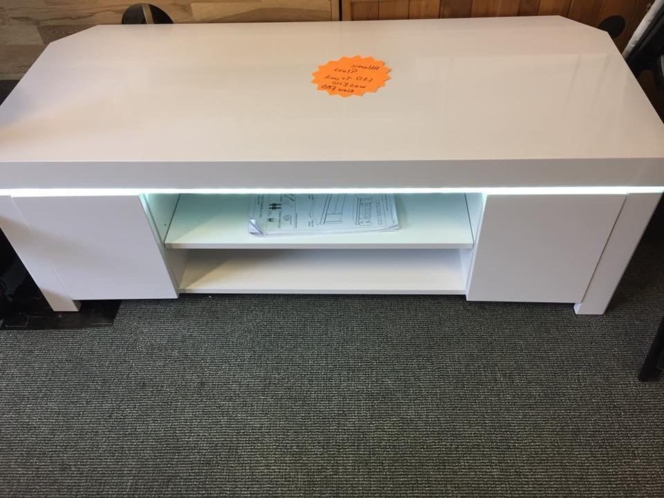 In Peterlee For Popular Corner Tv Unit White Gloss (View 16 of 20)