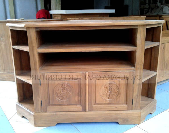 Indonesia Furniture For Corner Tv Tables Stands (View 15 of 20)