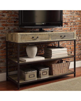 Industrial Tv Cabinets For Recent Ronay Rustic Industrial Tv Stand Inspire Q Target With Tv Idea  (View 7 of 20)