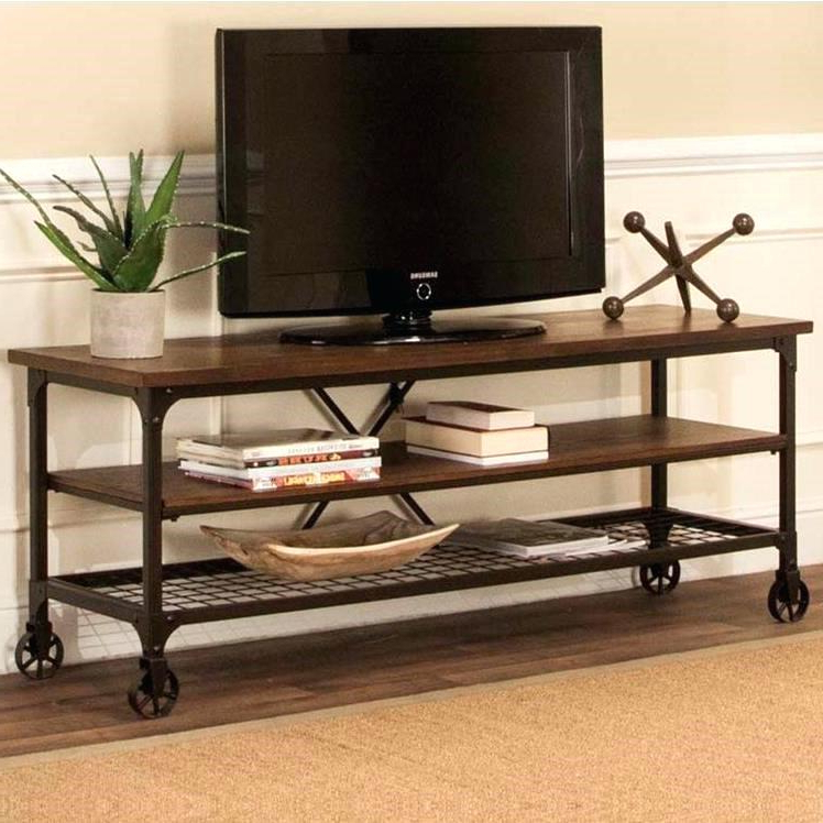 Industrial Tv Cabinets In 2018 Industrial Tv Cabinets Inc Craft Stand With Open Shelves Royal (Gallery 13 of 20)