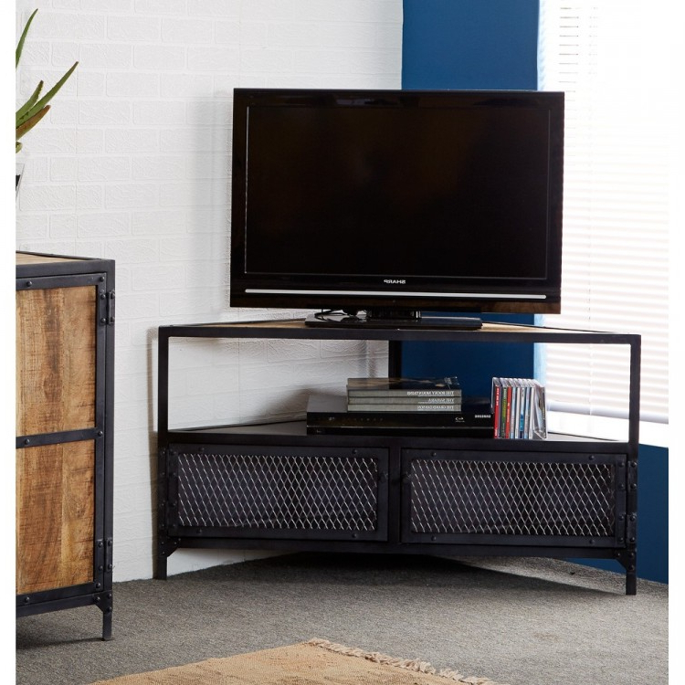 Industrial Tv Stand (View 9 of 20)