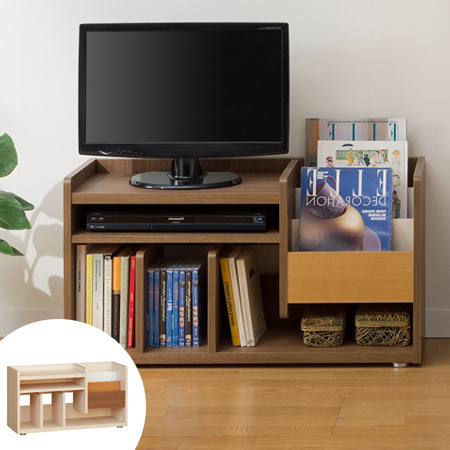Interior Palette: Tv Stand Bookcase Bookshelf Marche Height 46 Cm Inside Most Current Bookshelf And Tv Stands (View 6 of 20)