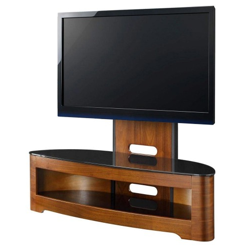 Jual Curve Cantilever Tv Stand (Gallery 18 of 20)