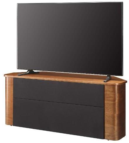 Jual Modern Acoustic Corner Tv Stand Walnut Jf708 (Gallery 17 of 20)