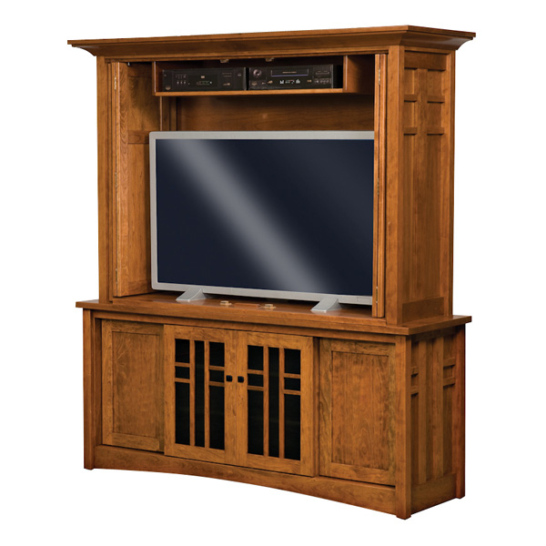 Kascade Enclosed Tv Cabinet (Gallery 3 of 20)