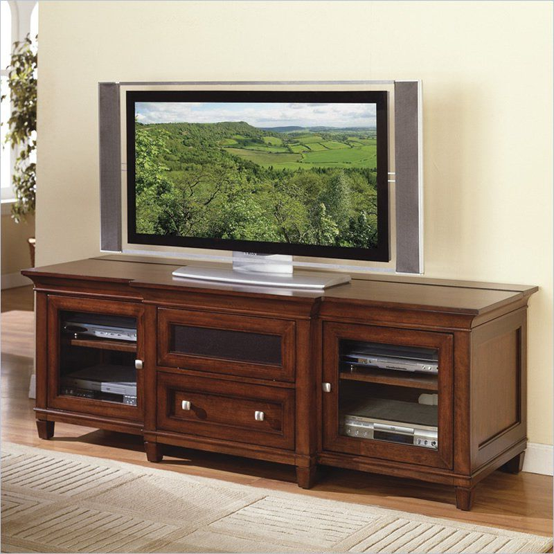 Kathy Ireland Homemartin Furniture Bradley Wood Plasma Tv Stand In 2018 Wyatt 68 Inch Tv Stands (View 5 of 20)