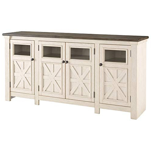 Kilian Grey 60 Inch Tv Stands Within 2018 Farmhouse Tv Stands: Amazon (View 12 of 20)