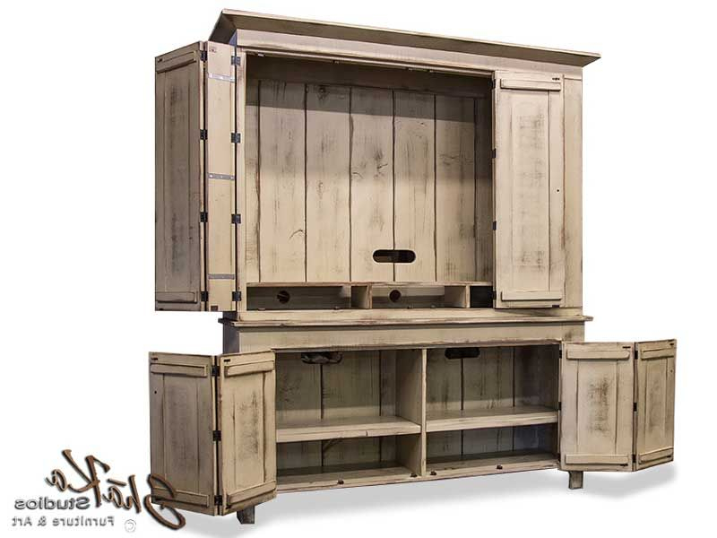 """Large Tv Cabinets Pertaining To Newest Fairfield 65"""" Tv Cabinet (Gallery 7 of 20)"""