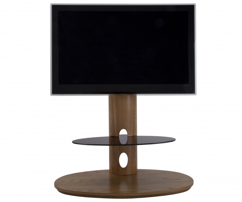 Latest Avf Chepstow Oak Cantilever Tv Stand For Up To 50 Fsl930Cheo Intended For Cantilever Tv Stands (Gallery 19 of 20)
