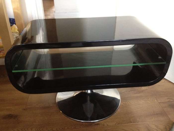 Latest Black Opod Tv Stands Pertaining To Techlink Opod Tv Stand Black For Sale In Dublin 1, Dublin From Thegirl (Gallery 14 of 20)