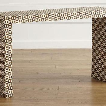 Latest Intarsia Console Tables In Triangle Design Console Table – Products, Bookmarks, Design (Gallery 12 of 20)