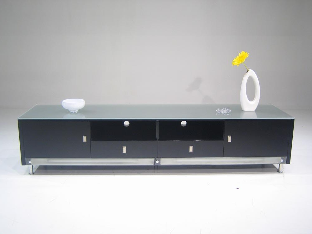 Latest Low Tv Stands And Cabinets Regarding Low Profile Lighted Plasma Cabinet (View 5 of 20)