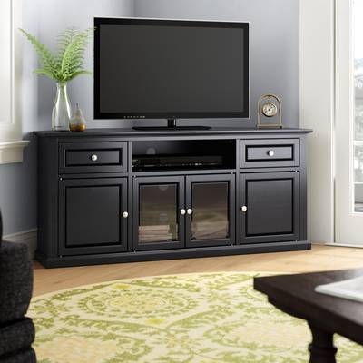 "Latest Maddy 50 Inch Tv Stands Pertaining To Three Posts Orviston Corner Tv Stand For Tvs Up To 60"" & Reviews (View 7 of 20)"