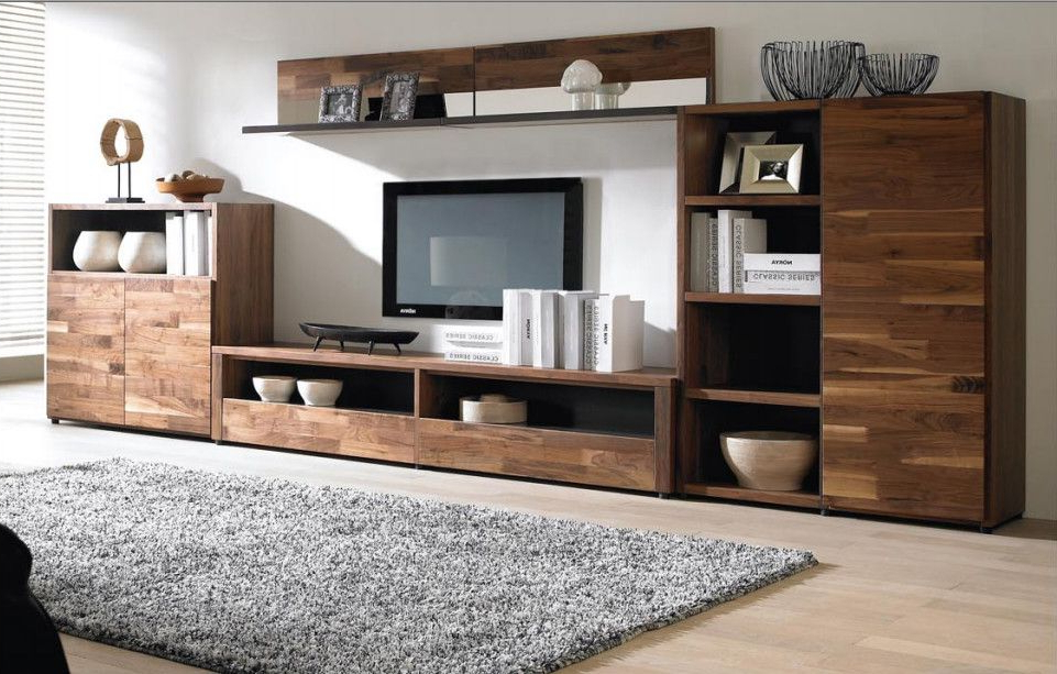 Latest Modern Design Tv Cabinets With Regard To High Quality Simple Modern Wooden Tv Cabinet Designs For Living Room (Gallery 4 of 20)