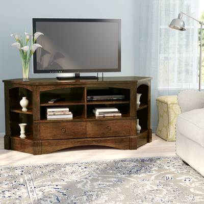 "Latest Orviston Corner Tv Stand For Tvs Up To 60"" & Reviews (View 4 of 20)"