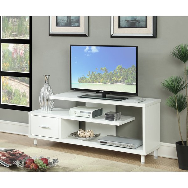 Latest Shop Porch & Den Logan Seal 60 Inch Tv Stand – Free Shipping Today Regarding Century White 60 Inch Tv Stands (View 13 of 20)