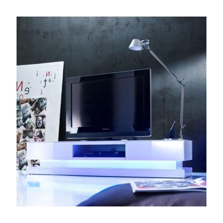 Latest Sven – High Gloss Tv Unit With Led Lights – Tv Stands (558) – Sena With Regard To Black Gloss Tv Stands (View 11 of 20)