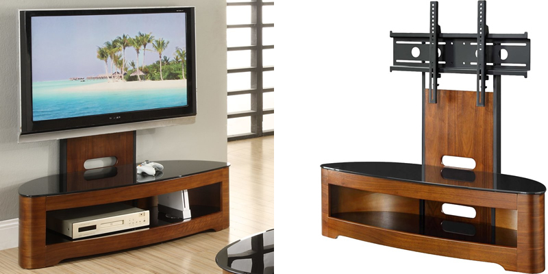 Latest Techlink Echo Ec130Tvb Tv Stands With Regard To Top 10 Best Tv Stands With Mount Brackets (View 4 of 20)