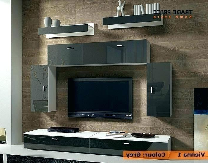 Latest Tv Cabinets And Wall Units For Tv Cabinet Wall Unit Bookcase Stand Modern Designs Floating Shelf (View 8 of 20)